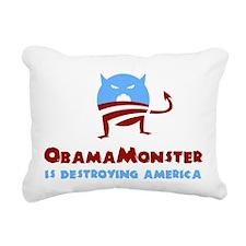 Destroying America Rectangular Canvas Pillow