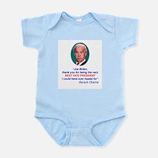 Joe Biden Best VP Collectible Infant Bodysuit