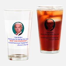 Joe Biden Best VP Collectible Drinking Glass