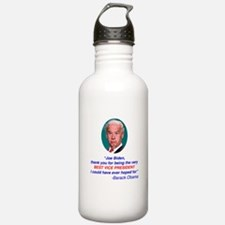 Joe Biden Best VP Collectible Sports Water Bottle