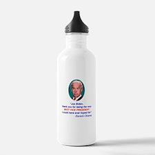 Joe Biden Best VP Collectible Water Bottle