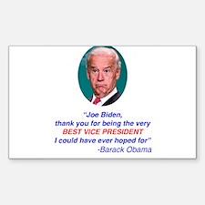 Joe Biden Best VP Collectible Decal