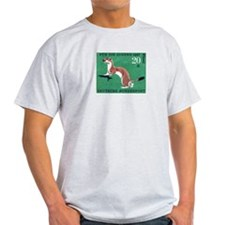 Weasel 1967 German Postage Stamp T-Shirt