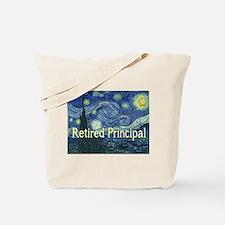 Retired Principal Van gogh blanket.PNG Tote Bag