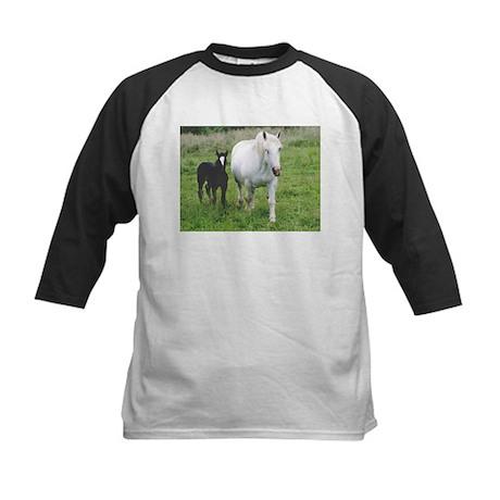 Colt and Horse Love Kids Baseball Jersey