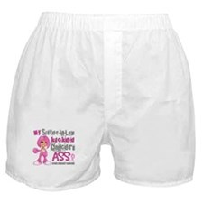 Loved One Kicked Breast Cancer's Ass 42 Boxer Shor