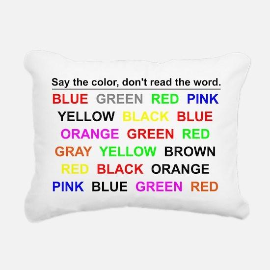 Cute Neuroscience Rectangular Canvas Pillow
