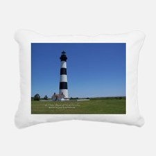 Bodie Island Lighthouse Rectangular Canvas Pillow