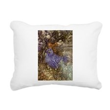 Rackham Fairy Rectangular Canvas Pillow