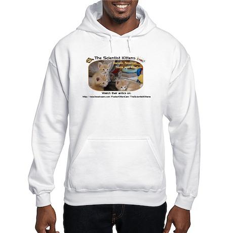 The Scientist Kittens Hooded Sweatshirt