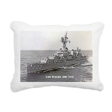 USS WALKE Rectangular Canvas Pillow