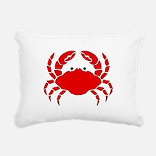 Crab Rectangular Canvas Pillow