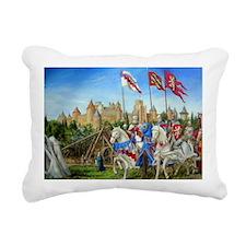 Siege of Carcassonne Rectangular Canvas Pillow