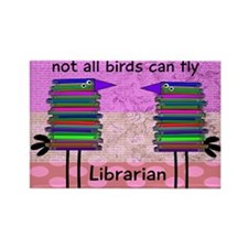 librarian not all birds can fly PINK.PNG Rectangle