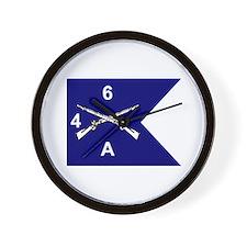 A Co. 4/6 Wall Clock