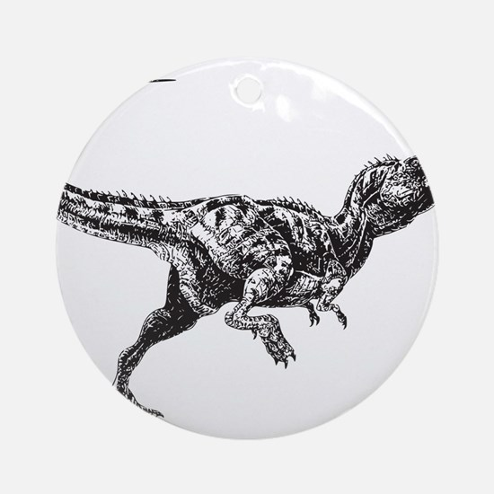 Dinosaur Ornament (Round)
