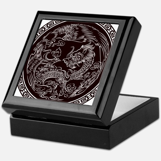 Oriental Art Keepsake Box