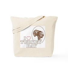 I Heart Turkey Day Tote Bag