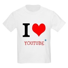 I love YouTube T-Shirt