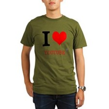 I love YouTube T-Shirt