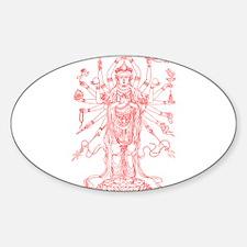Goddess Sticker (Oval)