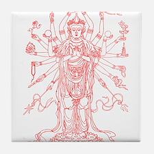 Goddess Tile Coaster