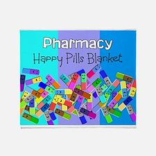 pharmacy happy pills blanket BLUES.PNG Stadium Bl