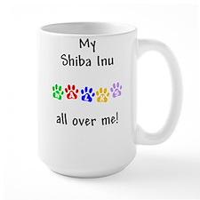 Shiba Inu Walks Mug