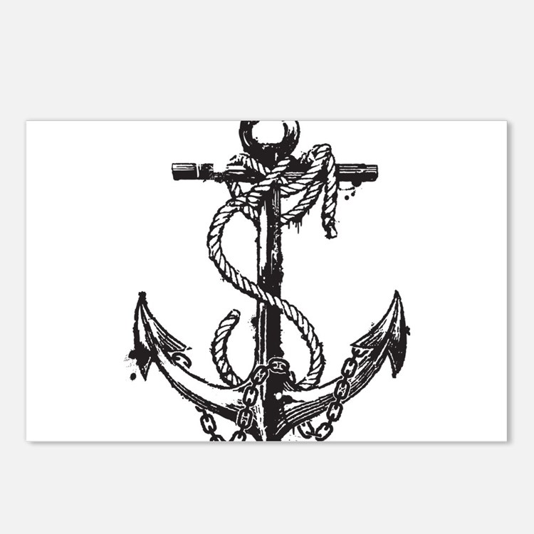 Anchor Postcards (Package of 8)
