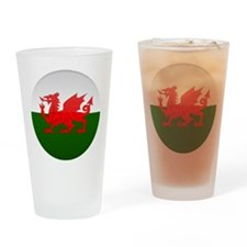 Welsh Button Drinking Glass