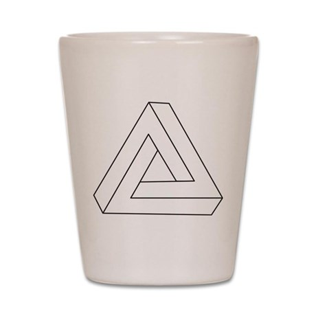Impossible Triangle Shot Glass