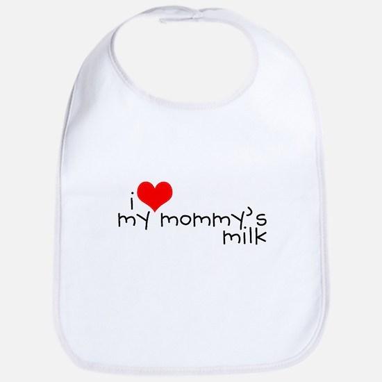 I love my Mommy's milk Bib