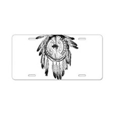 Native American Ornament Aluminum License Plate