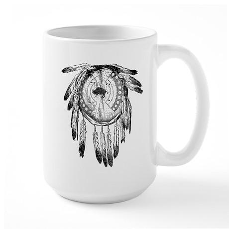 Native American Ornament Large Mug
