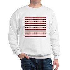 red and blue plaid Sweatshirt