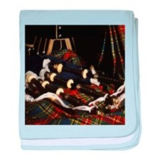 Scotland Bagpipes baby blanket
