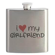 I Heart My Girlfriend Flask