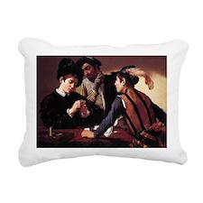 The Cardsharps Rectangular Canvas Pillow