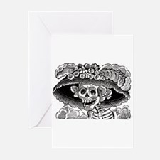 La Calavera Catrina Greeting Cards (Pk of 10)
