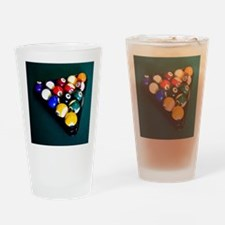 Billiards Drinking Glass