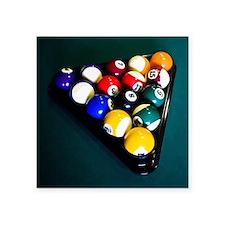 """Billiards Square Sticker 3"""" x 3"""""""