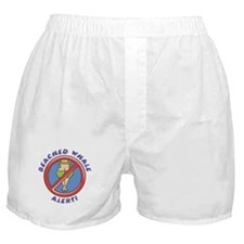 Beached Whale Alert Boxer Shorts