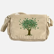 Peace Tree Messenger Bag