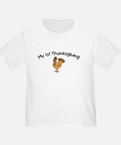 My First Thanksgiving T