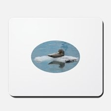 Seal Looking over Shoulder Mousepad