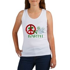 Peace on Earth Women's Tank Top
