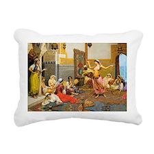Unique Bellydancing Rectangular Canvas Pillow