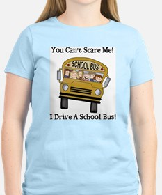 Bus Driver Women's Pink T-Shirt