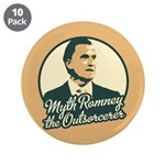 "Romney the Outsorcerer 3.5"" Button (10 pack)"