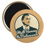 """Romney the Outsorcerer 2.25"""" Magnet (100 pack)"""